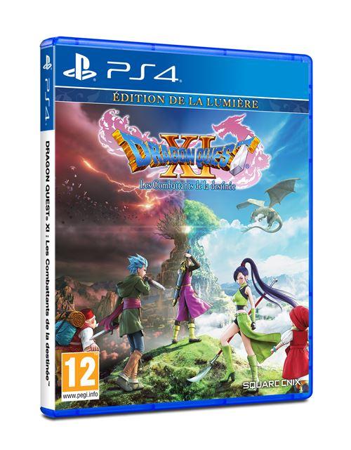 Sélection de jeux en promotion - Ex: Dragon Quest XI - Edition de la Lumière sur PS4