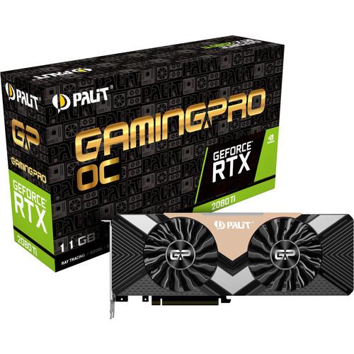 Carte graphique Palit GeForce RTX 2080 Ti Gaming Pro OC (854.90 € avec le code PERFECTO)