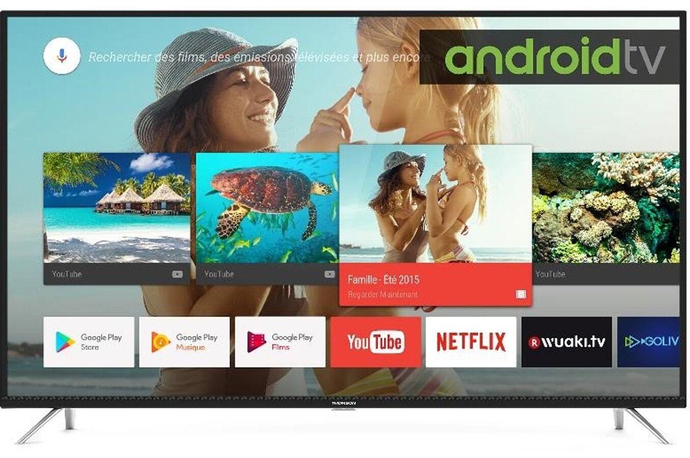 "TV LED 55"" Thomson 55UD6406 - 4K UHD, Smart TV"