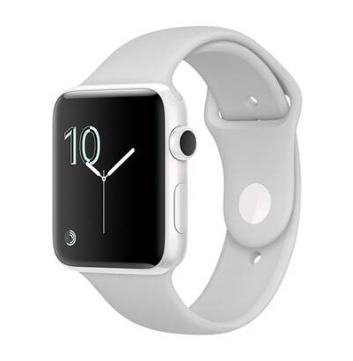 Montre connectée Apple Watch Edition Serie 2 42mn Ceramique Bracelet Sport Blanc