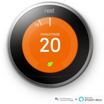 Thermostat connecté Nest Learning 3ème génération