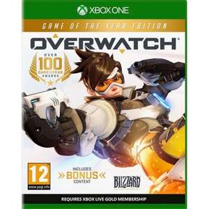 Jeu Overwatch sur Xbox One - Edition game of the year