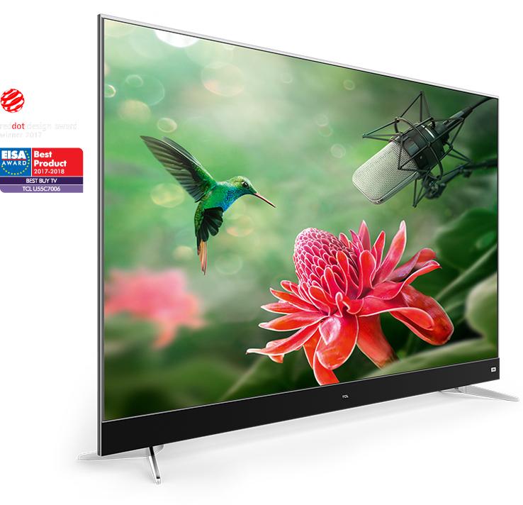 "TV 55"" TCL U55C7006 - LED, 4K UHD (Via ODR de 100€)"