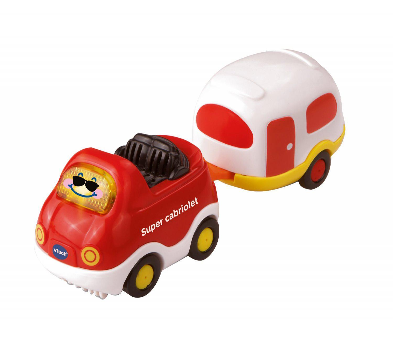 Voiture Vtech Timothée Super Cabriolet et sa Caravane