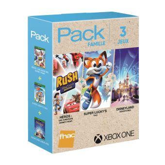[Adhérents] One Rush : Une aventure Disney Pixar + Super Lucky's Tale + Disneyland Adventures sur Xbox One (+10€ sur la carte fidélité)