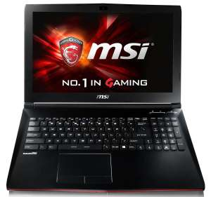 "PC Portable Gamer 15.6"" HD - MSI GP62 2QE-076FR Leopard Pro (i5-4210H - 8 Go DDR3 - 1 To - GTX 950M)"