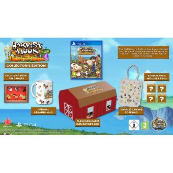 Jeu Harvest Moon Lumière d'espoir Edition Collector sur PS4