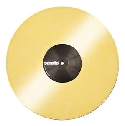 Paire de disques Vinyles Yellow - Serato