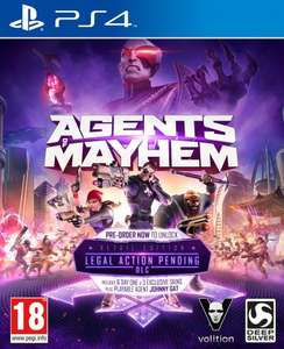 Jeu Agents of Mayhem Edition Spéciale sur PS4