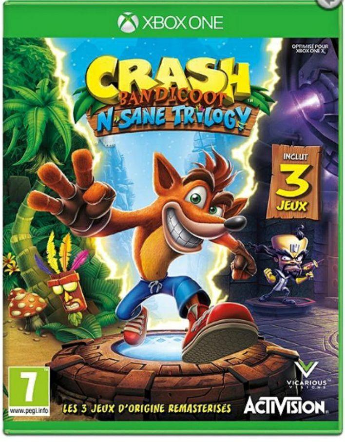 Crash Bandicoot N. Sane Trilogie sur Xbox One