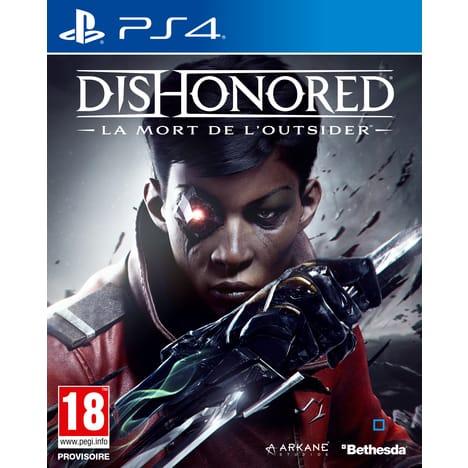 Dishonored : La Mort de l'Outsider PS4