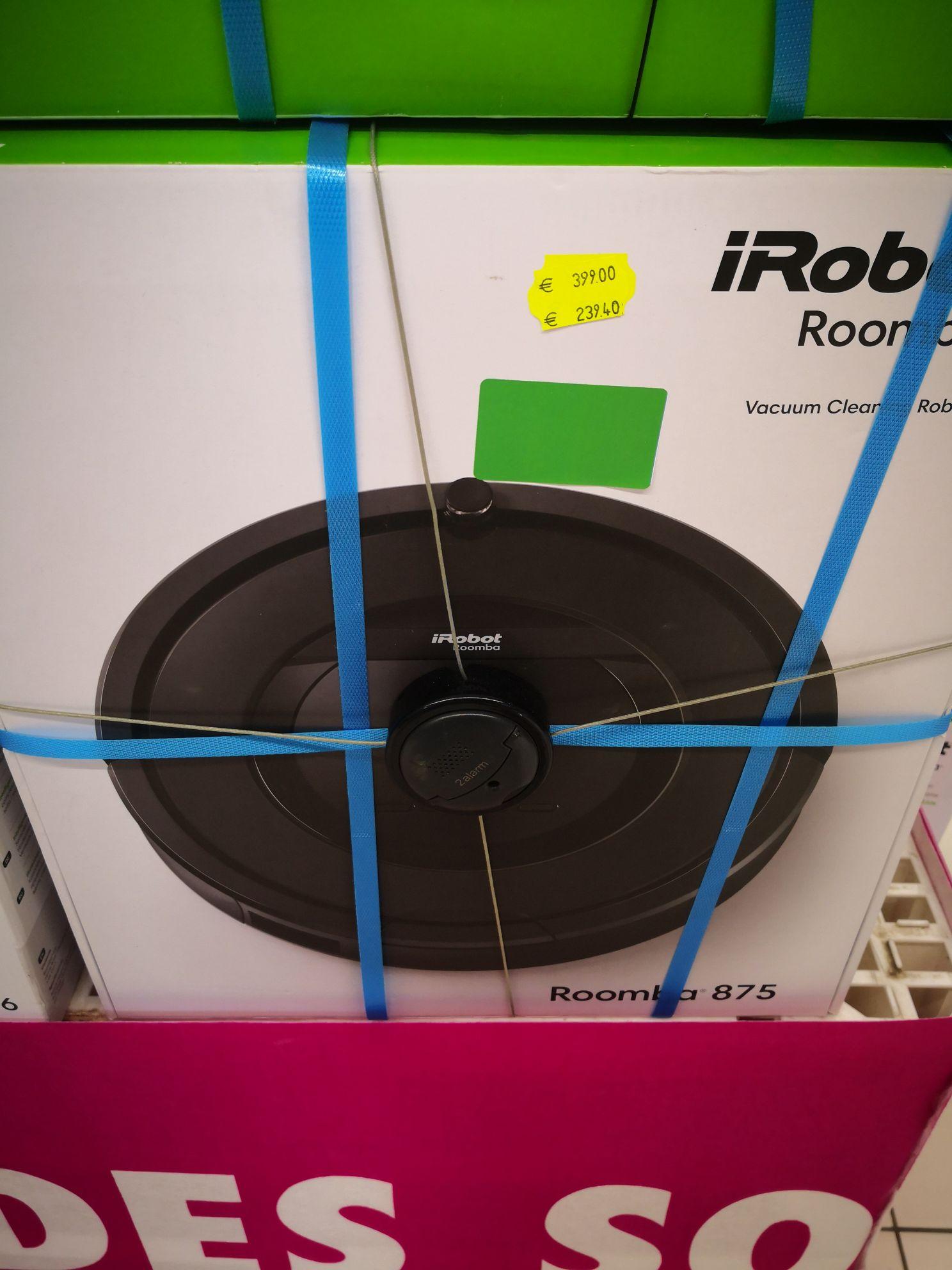 Aspirateur robot IRobot Roomba 875 - Carrefour Mulhouse (68)