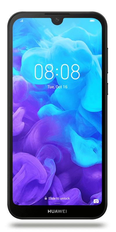 """Smartphone 5.71"""" Huawei Y5 2019 - HD+, 16 Go (via ODR 30€)"""