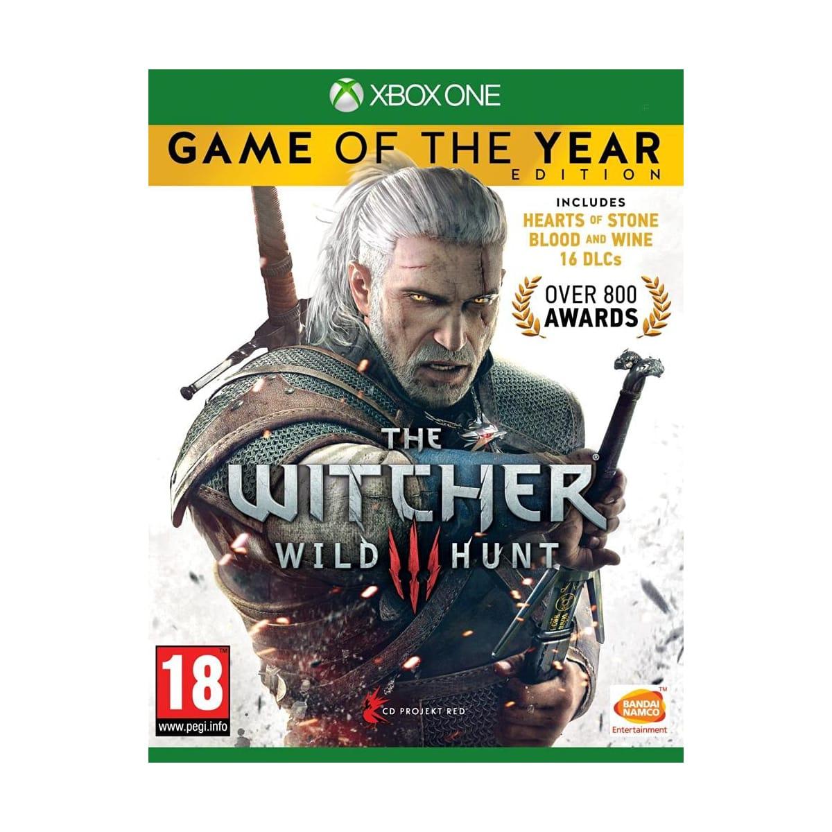 Sélection de jeux en soldes - Ex : The Witcher 3 - Game of the Year Edition sur Xbox One