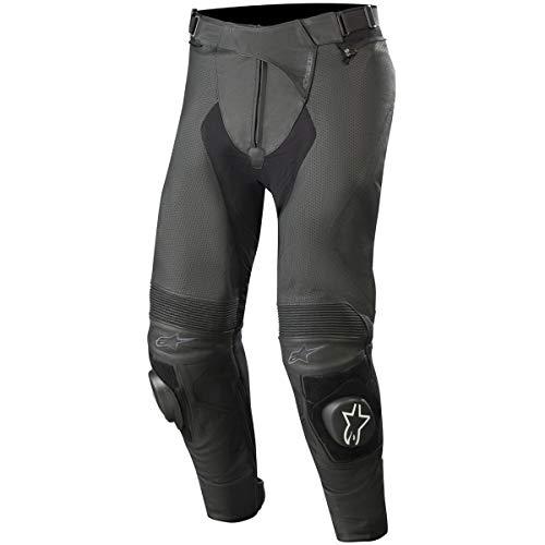 Pantalon de moto en cuir Alpinestars Missile v2 Airflow - Taille 46, Noir