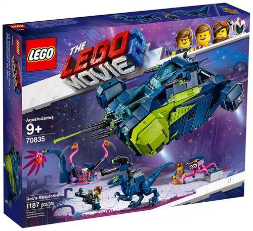 50% de réduction sur une sélection de Légo - Ex : The Lego Movie 2 - Le Rexplorer de Rex La Grande Aventure Lego 2 (70835)