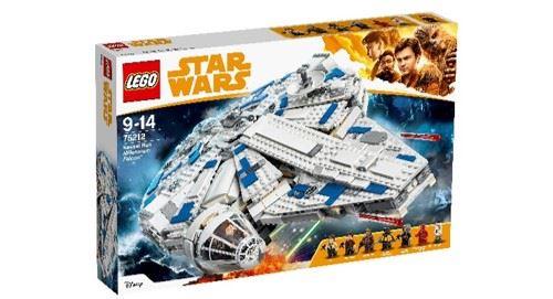 Jeu de construction Lego Star Wars - Le Faucon Millenium du raid de Kessel (75212)