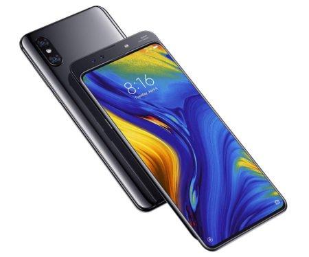 "Smartphone 6,39"" Xiaomi Mi Mix 3 - Snapdragon 845, RAM 6 Go, Stockage 128 Go, Noir  (+ 14.98€ en SP) (269.64€ avec le code ETE30)"