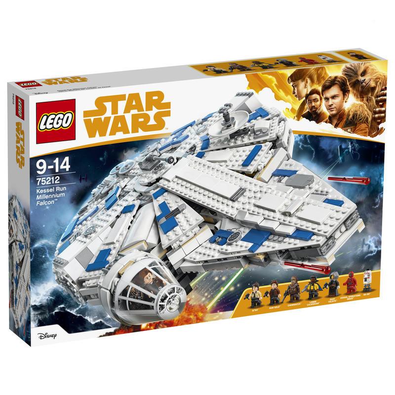 Lego Le Faucon Millenium du raid de Kessel (75212)