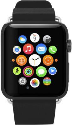Bracelet Incipio Premium cuir pour Apple watch 38mm - Noir