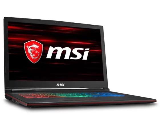 "PC Portable 17.3"" MSI Leopard GP73 8RE-640FR - Ecran 120 Hz Full HD, i7-8750H, 8 Go de RAM, 1 To + 256 Go en SSD, GTX1060 (6 Go), Windows 10"