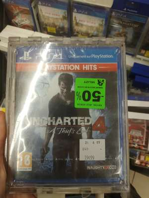 Uncharted 4 sur PS4 - Velizy (78)