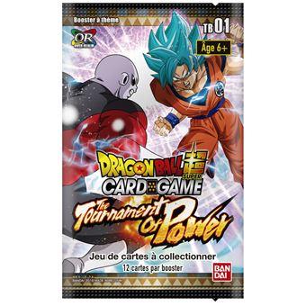 Booster de cartes Bandaï Dragon Ball Super