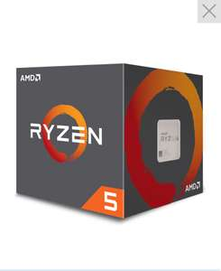 Processeur AMD Ryzen 5 2600X Wraith Spire Edition (3.6 GHz)