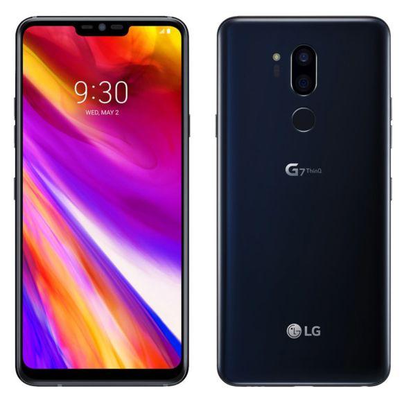 """Smartphone 6,1"""" LG G7 ThinQ - SnapDragon 845, 4 Go de RAM, 64 Go de ROM"""