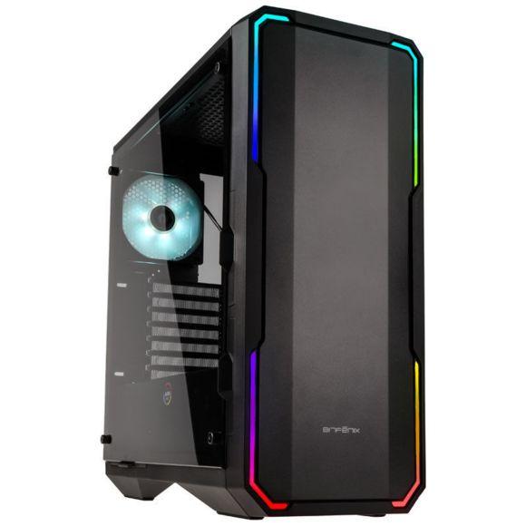 Boitier PC Gamer E-ATX - BITFENIX Enso RGB Noir avec fenêtre