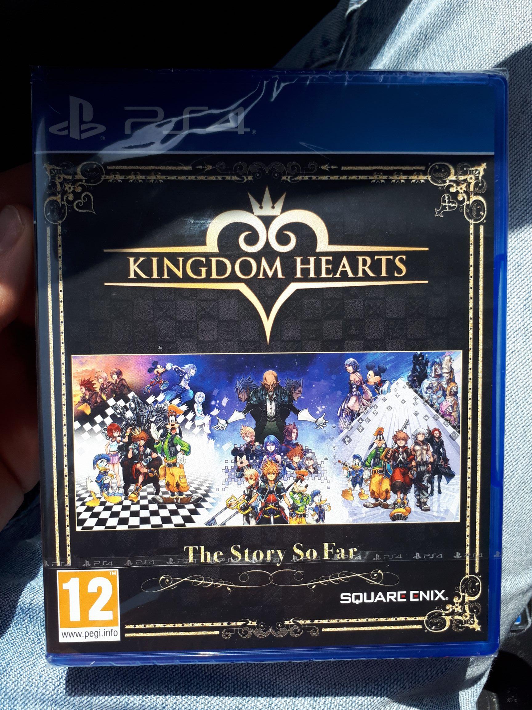 Kingdom Hearts : The Story So Far sur PS4