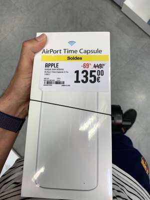 Disque dur NAS Apple AirPort Time Capsule (3 To) - Givors (69)