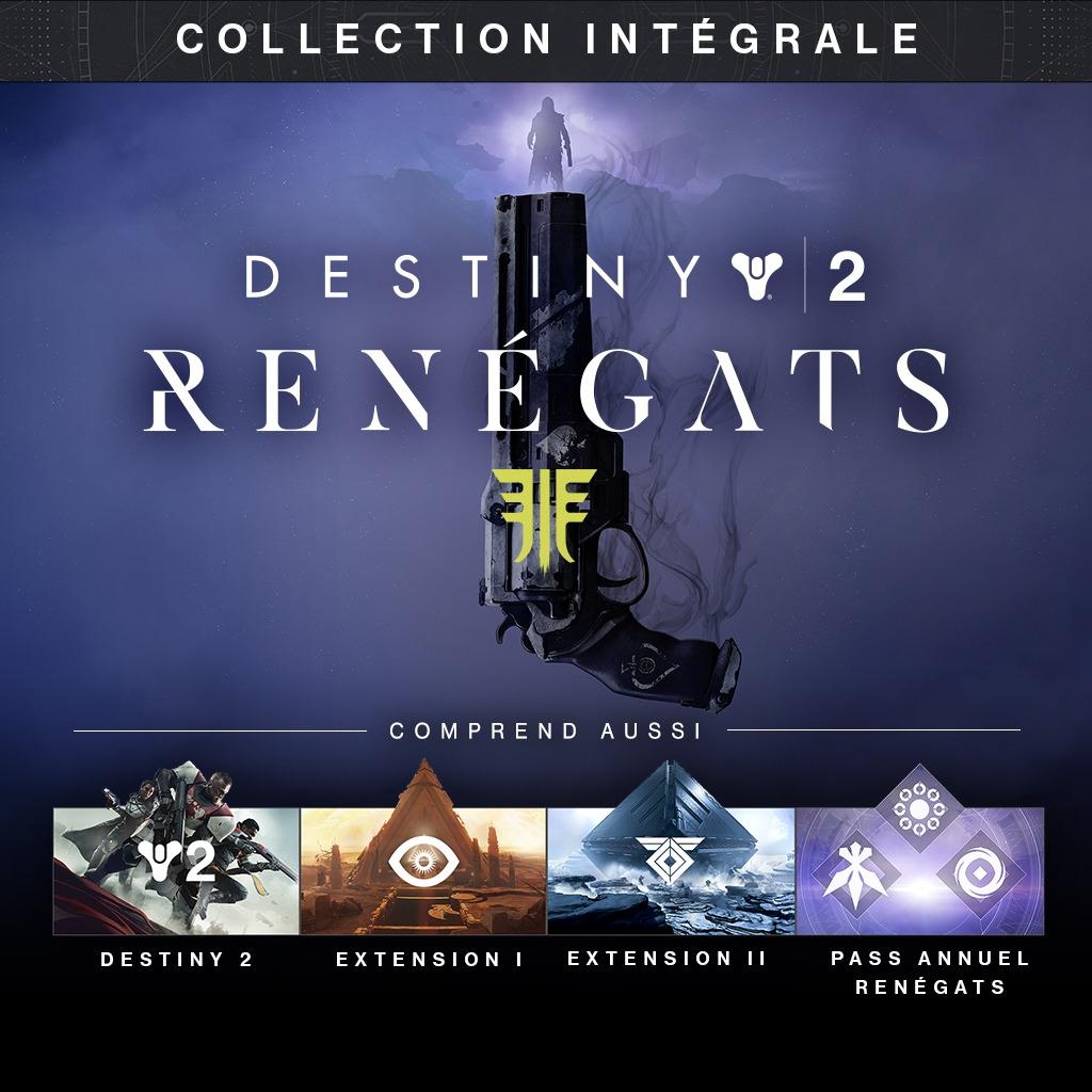 Destiny 2 Renégats - Collection Intégrale sur PC (dématérialisé)