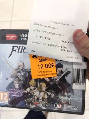 Fire Emblem Warriors : Warriors sur 3DS - Taverny (95)