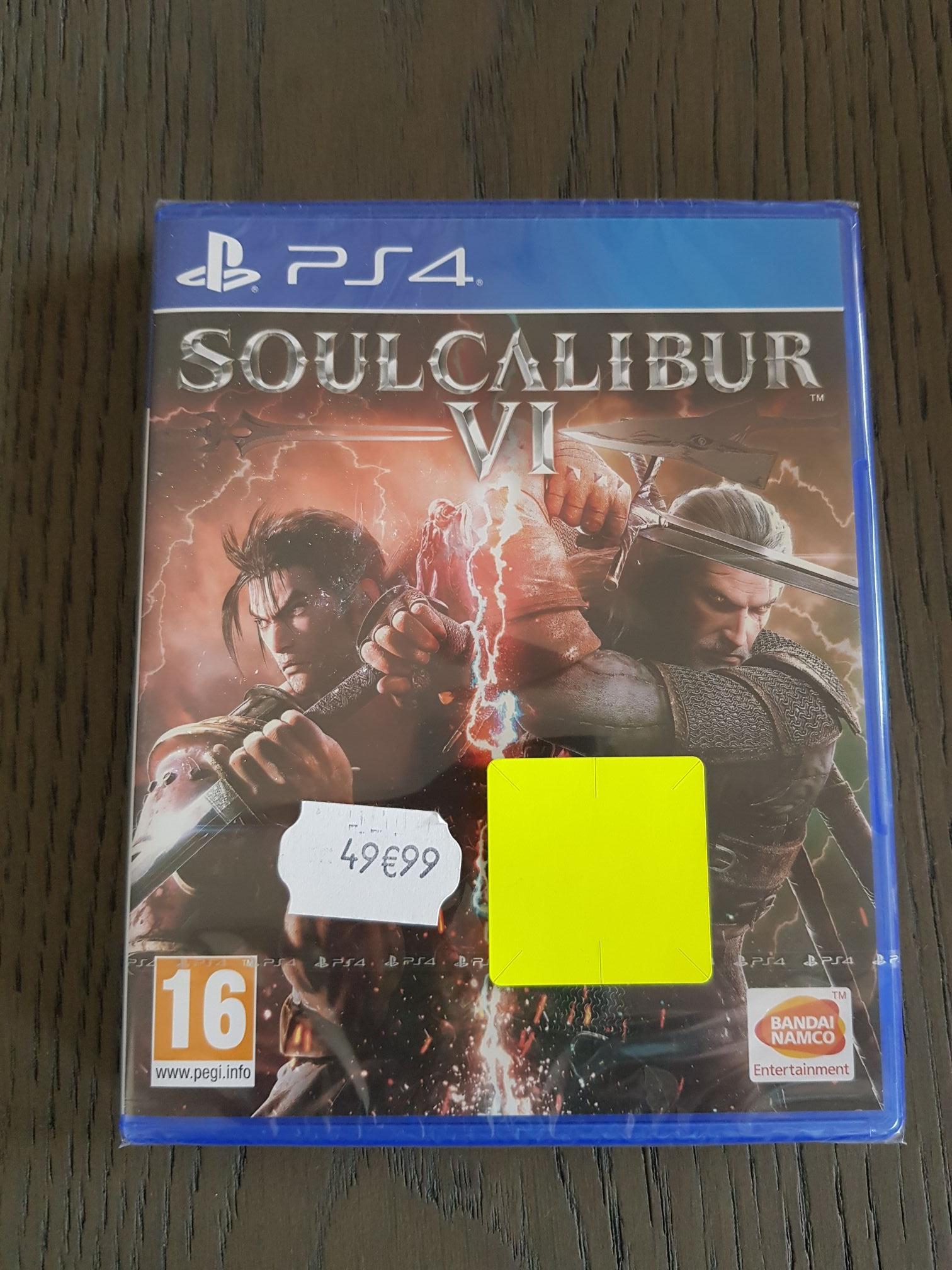 Jeu Soul Calibur Vi sur PS4 - Auchan Roncq (59)