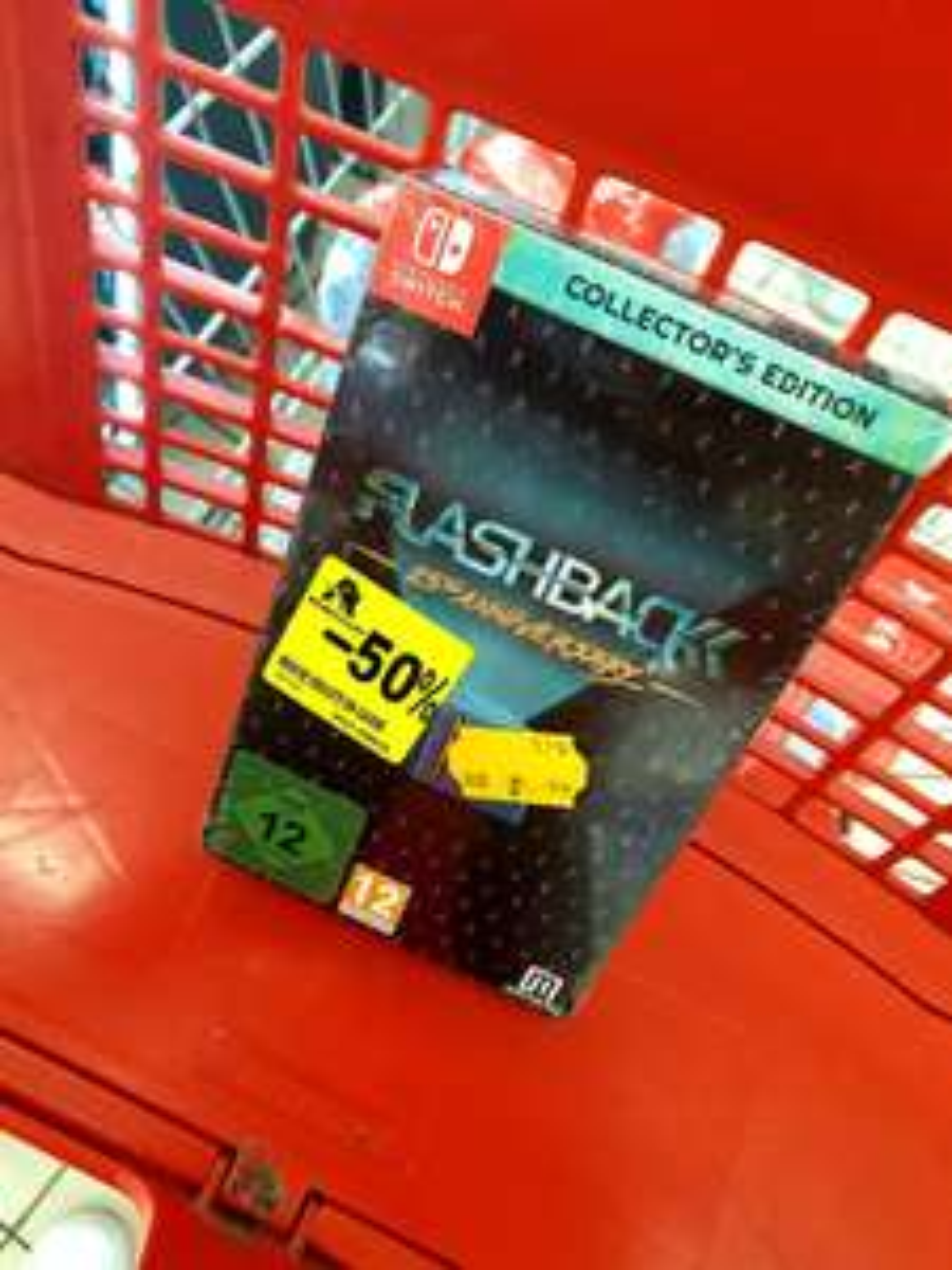 Flashback 25th Anniversary - Collector's Edition sur Switch - Semécourt (57)