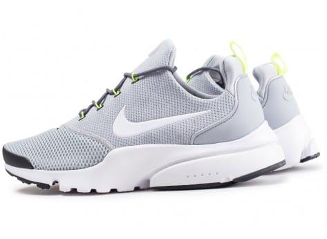 acheter populaire dacc9 4d96d Chaussures Nike Presto Fly - Grise et blanche - Plusieurs ...