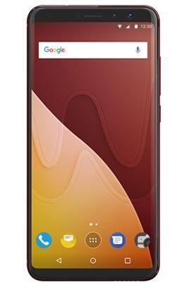 "Smartphone 5.7"" Wiko View Prime - Double Sim, 64 Go, Rouge cerise"