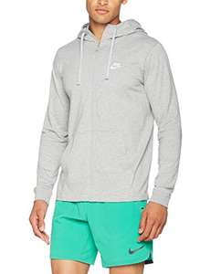 Veste Homme Hoodie Nike Fz Club Grise (Taille L)