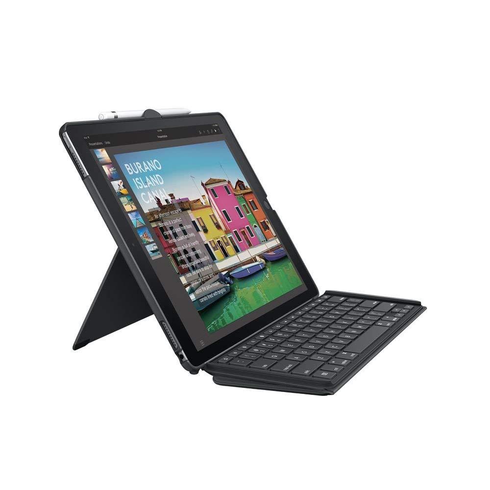 Étui Clavier Logitech pour iPad Pro 12,9 pouces (1e et 2e génération) - AZERTY