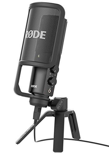 Microphone à condensateur USB Rode NT-USB - Noir