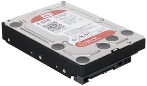 "Disque Dur 3,5""  Western Digital RED version Bulk pour NAS - 4 To"