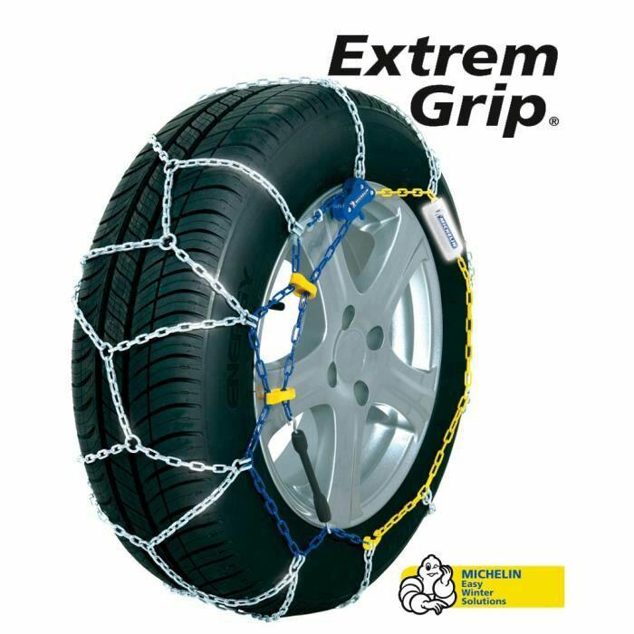 Paire de chaîne à neige Michelin Extrem Grip G67