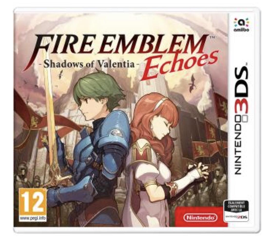 Fire Emblem Echoes Shadows of Valentia sur Nintendo 3DS
