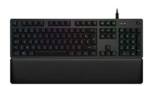 Clavier Gaming Mécanique Rétroéclairé RGB Logitech G513 (vendeur tiers)