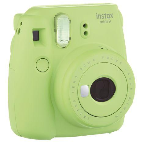Appareil Photo Instantané Fujifilm Instax Mini 9  - Vert citron