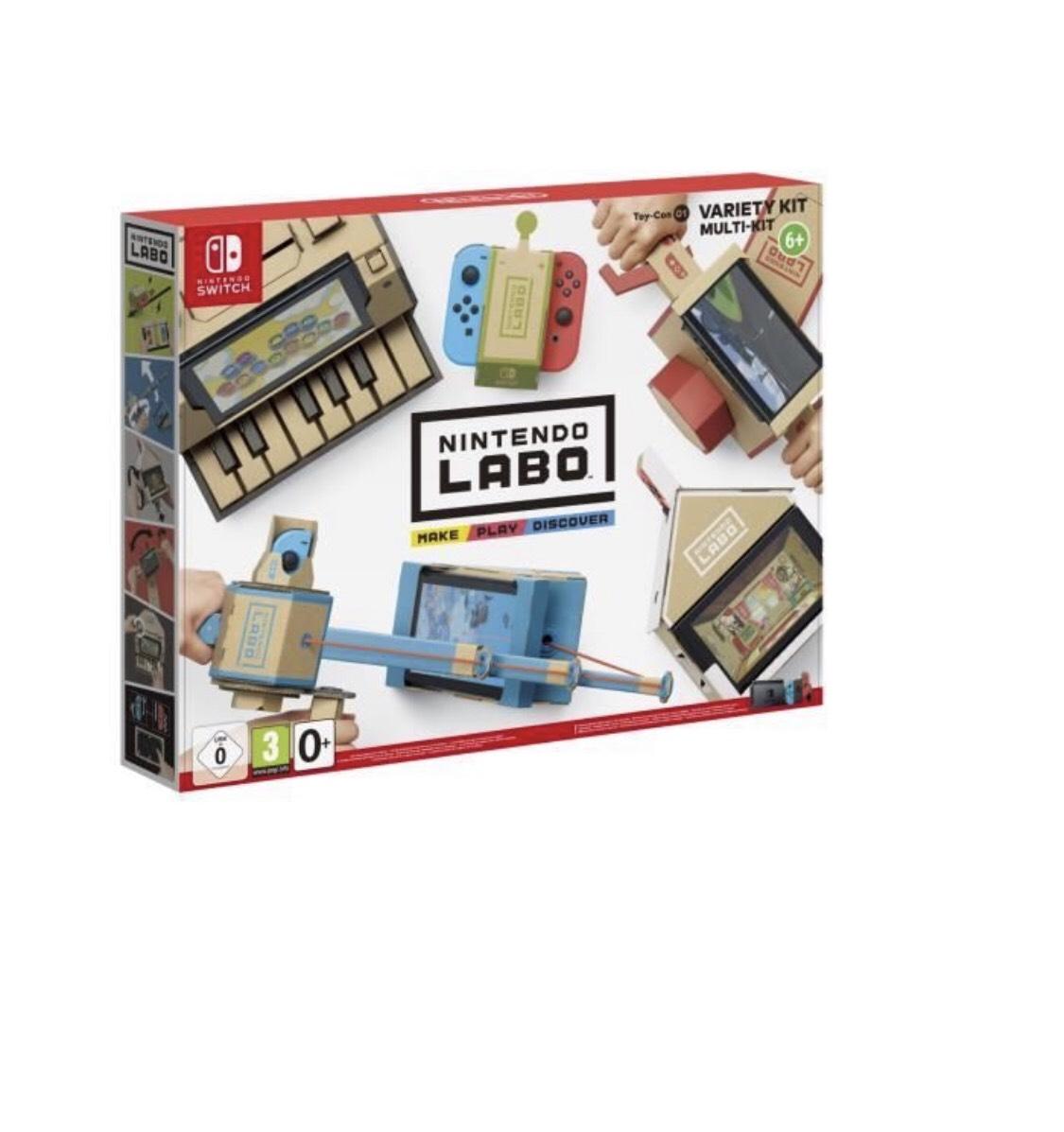 Nintendo Labo Multi-Kit sur Nintendo Switch