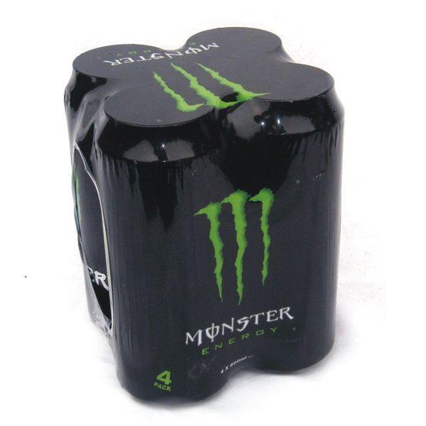 2 packs de 4 canettes de boisson énergisante Monster Energy (via 2 x BDR)
