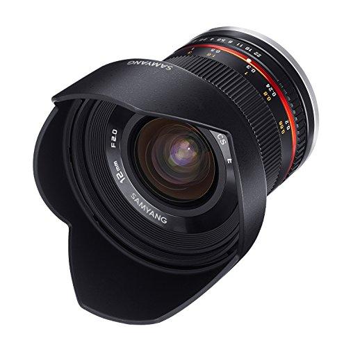 Objectif Samyang 12 mm F2 NCS CS pour Monture Sony E - Noir