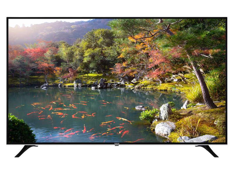 """TV 75"""" Toshiba 75U6763DG - 4K UHD, HDR, LED, Smart TV"""